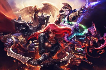 League of Legends Heroes Coming